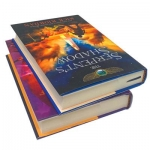 The Kane Chronicles Collection 2 Books Set by Rick Riordan The Serpents Shadow, The Throne of Fire by Rick Riordan