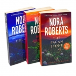 Nora Roberts Sign of Seven Trilogy 3 Books Collection Set (The Hollow, The Pagan Stone, Blood Brothers) by Nora Roberts