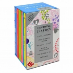 Charming Classics Collection 6 Books Box Set Alice In Wonderland, A Little princess by Various
