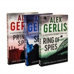 Alex Gerlis Richard Prince Thrillers 3 Books Collection Set (Ring of Spies, Sea of Spies, Prince of Spies) by Alex Gerlis