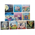 Children Picture Storybooks 10 Books Collection Set Animal Magic, Day at the Zoo, Little Llama, Jumblies, Milo Goes Bananas, Three Little Pigs & MORE by Various