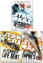 Star Wars Aftermath Trilogy 3 Books Collection Set By Chuck Wendig Life Debt by Chuck Wendig