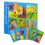Read it Yourself with Ladybird - Level 3: 6 Books Box Set (Jack and the Beanstalk,Rapunzel,Elves,Jungle,Aladdin,Hansel) by Lady Bird