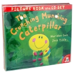The Crunching Munching Caterpillar and Other Stories Collection 10 Books & CDs Set by Various