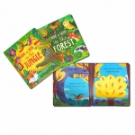 Hide and Seek Touch & Feel Lift the Flap 5 Books Collection Box Set (Forest, Sea, Farm Animals, Jungle & Dinosaurs) by Rachel Elliot, Rosamund Lloyd