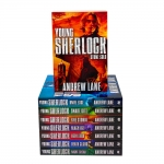 Andrew Lane Young Sherlock Holmes 8 Books Collection Set Night Break, Stone Cold, Knife Edge, Snake Bite, Fire Storm, Black Ice, Red Leech by Andrew Lane