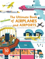 The Ultimate Book Series 2 Books Collection Set (Ultimate Book of Cities & Ultimate Book of Airplanes and Airports) by Various