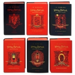 Harry Potter House Gryffindor Edition Series 6 Books Collection Set By J.K. Rowling by J.K. Rowling