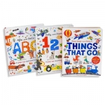 Little Learners Pop Up Collection 3 Books Box Set (ABC, 123, Things That Go) by Little Tiger Kids