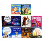 Animal Picture 10 Books Collection Set (Moonlight Adventure, Long Way, Bears House,Friend, Unicorn Club, Love, Little Owl, World, Monster and More!) by Various