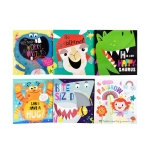 The Very Hungry Worry Monsters & Friends 6 Books Set With Bag by Various