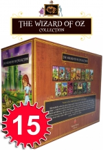Wizard of Oz Collection 15 Books Box Gift Set Marvellous of Oz, Ozma of Oz by L Frank Baum