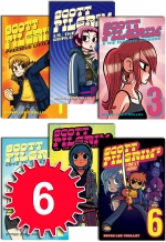 Scott Pilgrim 6 Books Collection Set Bryan Lee OMalley by Bryan Lee OMalley