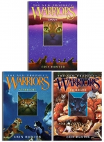 Warriors Cats Series 2 The New Prophecy By Erin Hunter 6 Books Set Midnight Moonrise Dawn Starlight Twilight Sunset 9780007931057 Buy Books