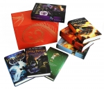 Harry Potter Complete Collection 7 Books Set Collection J K Rowling Hardback Red by J.K.Rowling