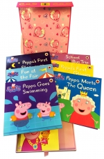 Peppa Pig Books Secret Stories 7 Book Collection Set in Keepsake Box With Draw by Neville Astley/Mark Baker