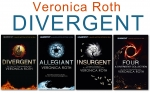 Veronica Roth Divergent Insurgent Allegiant Trilogy 4 Books Collection Box Set by Veronica Roth