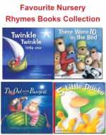 Favourite Nursery Rhymes 20 Picture Books Collection Box Set Twinkel, Peter Pan by Various