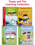 Topsy and Tim Learning Collection 8 Books Set As Seen On TV Read at home by Jean and Gareth Adanson