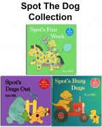 Spot the Dog Story Collection Eric Hill 10 Books Box Set by Eric Hill