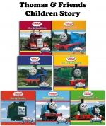 Thomas & Friends Children's Story 7 Books Collection Box Set by Dean &  Son