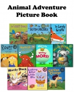 Animal Adventure Childrens Picture Flat Collection 10 Books Set Mucky Duck NEW by Various
