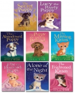 Holly Webb 16 Books Set Puppy and Kitten Collection - Animal Rescue by Holly Webb