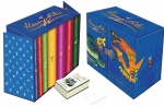 Harry Potter Complete Collection 7 Books Set Collection J.K.Rowling HB Blue by J.K.Rowling