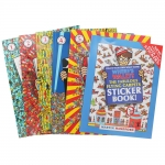 Where's Wally? The Solid Gold Collection 5 Books Box Set by Martin Handford