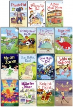 Usborne Very First Reading 16 Books Collection Set Gift Pack by Mairi Mackinnon