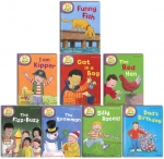Oxford Reading Tree Read With Biff Chip Kipper Collection 8 Books Set Level 2 by Roderick Hunt