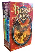 Beast Quest Series One 6 Books Collection Set (Book 1 to 6) by Adam Blade