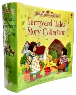 Usborne Farmyard Tales Story Collection 20 Books Set by Heather Amery  (Author), Stephen Cartwright (Illustrator)