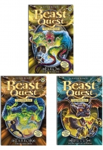 Beast Quest Series 11 The New Age 6 Books Collection Set (Books 61-66) by Adam Blade