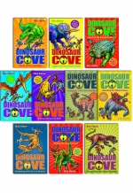 Dinosaur Cove Series Collection 20 Books Box Set 1 to 20 Pack Rex Stone New PB by Rex Stone