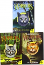 Erin Hunter Omen of the Stars Collection 3 Books Box Set Vol 1-3 Warrior Cats by Erin Hunter