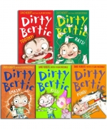 Dirty Bertie - Series 2 - David Roberts 10 Books Collection Set Rats, Smash, Kiss, Pong, Scream, Loo, Ouch, Crackers, Snow, Toothy by David Roberts, Alan MacDonald