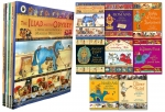 Marcia Williams Collection of Children's 8 Books Picture Flats Set (Shakespeare, The Iliad and the Odyssey, Ancient Egypt - Gods and Pharaohs, Oliver) by Marcia Williams
