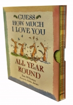 Guess How Much I Love You (All Year Round 4 Books Set: Spring, Summer, Autumn, Winter) Gift Set Ideal For All Occasions Such As Valentine, Christmas by Sam Mcbratney(Author), Anita Jeram (Illustrator)