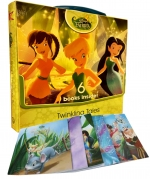 Disney Fairies Pack Twinkling Tales 6 Books Stories Carry Box Set by Disney