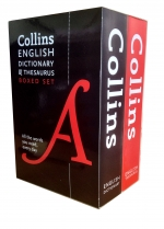 Collins Children English Dictionary and Thesaurus Collection 2 Book Box Set Pack by Collins Dictionaries