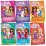 Secret Kingdom Series 1 Collection Rosie Banks 6 Books Set Enchanted Palace Unicorn Valley Cloud Island Mermaid Reef Magic Mountain Glitter Beach by Rosie Banks