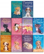 Holly Webb Complete Collection 30 Books Set Puppy and Kitten - Animal Stories, Pet Rescue Adventure Series by Holly Webb