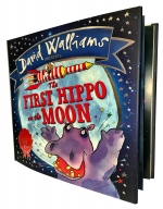 David Walliams Children Picture Book Collection 3 Books Set (The First Hippo on the Moon,The Slightly Annoying Elephant, The Bear Who Went Boo) by David Walliams