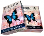 Butterfly Oracle Cards for Life Changes Cards Deck Doreen Virtue Psychic Reading by Doreen Virtue