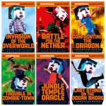 Minecraft An Unofficial Gamer's Novel 6 Books Collection Set by Mark Cheverton by Mark Cheverton