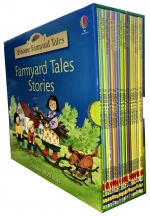 Usborne Farmyard Tales 20 Books Collection Box Gift Set by H. Amery,  S. Cartwright
