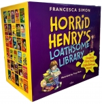 Horrid Henrys Loathsome Library Collection 30 Books Set by Francesca Simon, Tony Ross