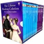 Usborne Reading Collection 40 Books Box Set Series Confident Readers by Usborne