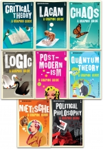 A Graphic Guide Introducing Thinking to Change World Collection 8 Books Set (Logic, Chaos, Lacan, Postmodernism, Quantum Theory, Nietzsche by Various